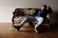 Harrison Gilbertson by Giovanni Lovisetto Harrison Gilbertson, Hipster, Couch, Actors, Pretty, Style, Fashion, Swag, Moda