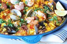 Mixed Seafood Paella - Danielle Walker's Against All Grain