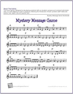 """Mystery Message Game 