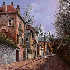 Sacro Cuore Painting Guido Borelli