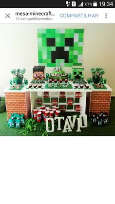 Best Minecraft Die Kindergeburtstagsparty Mit BauklotzFlair - Minecraft spiele handy