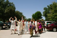 indian-wedding-baraat-party-entrance http://maharaniweddings.com/gallery/photo/3403
