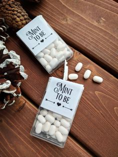 Mint To Be, CUSTOM Labels, Stickers, Mint, Favours. Wedding favors. #affiliate #wedding #weddingfavors #mints