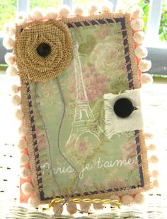 French Shabby Chic Card - Southern Shabby Gal..pretty