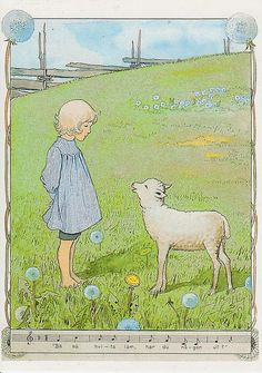 Go to product Elsa Beskow, Retro Kids, Antique Illustration, Children's Book Illustration, Beatrix Potter, Poster Shop, Sheep Art, Poster Online, Different Art Styles