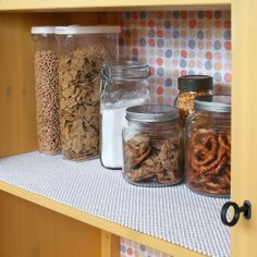 Keep jars and dishes in place with Grip Premium from Con-Tact® Brand