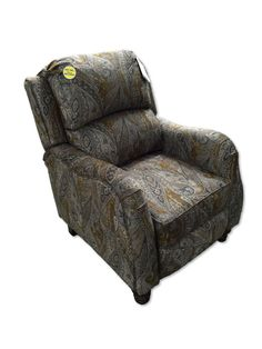 Danielle Camel Paisley Recliner by Serta Upholstery u2013 My Furniture Place  sc 1 st  Pinterest & Timeless Patina Clockwork Accent Recliner by Serta Upholstery ... islam-shia.org