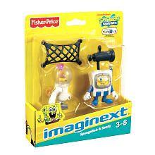 Fisher-Price Imaginext SpongeBob SquarePants Figures 2-Pack - SpongeBob and Sandy