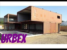 Hydraulic doors transform containers in retrotronic shelters - YouTube