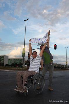 Brazilian protest in Brasília 17/06/2013