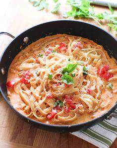 Red Pepper Fettuccini1a