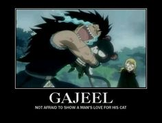 Not afraid to show a man's love for his cat♥♥