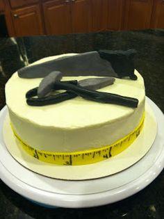 Tool Birthday Cake Handmade Tools Flashlight And Tape