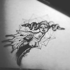 #art #artwork #mutant #tattoo #design #fzsa #girl