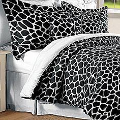 Ohh i like this one too!!!  Giraffe 8-piece Comforter Set