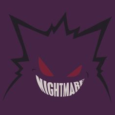 Awesome Gengar shirt. References an old Sabrina Gengar Card