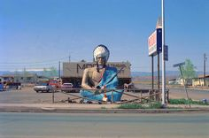 Moqui Trading Post, Roosevelt, Utah 1976 by westkauai, via Flickr