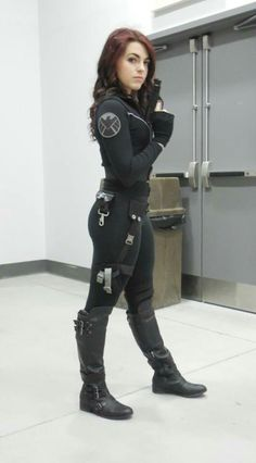 My second cosplay. Natasha Romanoff - Black Widow