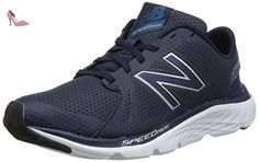 Flash V2, Running Homme, Bleu (Blue/Black), 42.5 EUNew Balance