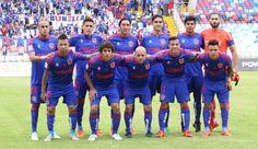 Universidad de Chile Soccer, Grande, National Championship, Bicycle Kick, University, Universe, Blue, Sports, Lion Art