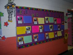 This was a bulletin board I was able to do my last year of teaching second grade. It was one of my favorite projects! The kids wrote a description of a story they would recommend to others. Then, I took their picture and they filled out an 'Author Information' card. I have used this border SO many times!