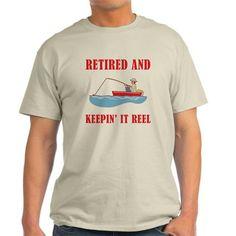 Funny Fishing Retirement T-Shirt