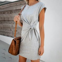 Solid Women Holiday Daily Fashion Mini Dresses - Solid Women Holiday Daily Fashion Minii Dresses – Dressisi Source by myhouseinvancouvet - Fast Fashion Brands, Cheap Fashion, Trendy Fashion, Fashion Online, Fashion Women, Fashion Trends, Mini Robes, Short Sleeve Dresses, Dresses With Sleeves