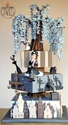 Mary Poppins Cake Like If You Have Watched The Film Or... Comment Which Character Is Your Favourite. Enjoy!