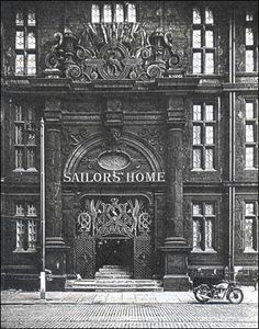 Sailors home liverpool...All thats left now is the iron gates set on where the building was ....Now its L1 Shopping mal...
