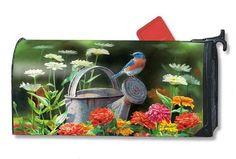 Garden Bluebird MailWrap