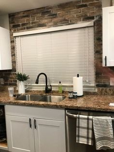 DIY Faux Brick backsplash from faux brick panels Faux Brick Backsplash, Subway Tile Backsplash, Kitchen Backsplash, Backsplash Cheap, Backsplash Arabesque, Herringbone Backsplash, Brick Tiles, Faux Brick Wallpaper Kitchen, Kitchen Mosaic