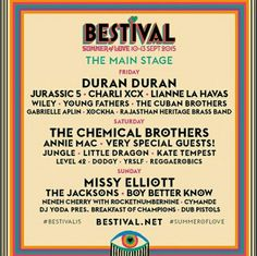 The Bestival line up is here!