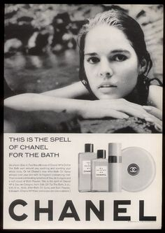 Ali MacGraw for Chanel N°5