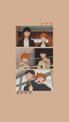 Kagehina 「kageyama x hinata」 ;haikyuu 『Anime Wallpaper』 Haikyuu Kageyama, Haikyuu Manga, Haikyuu Fanart, Manga Anime, Cool Anime Wallpapers, Cute Anime Wallpaper, Animes Wallpapers, Girl Wallpaper, Wallpaper Backgrounds
