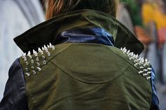 army spikes jackets