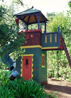 Barbara Butler-Robin Hood 1 Swing: Add a Pyramid Roof-Extraordinary Play Structures for Kids