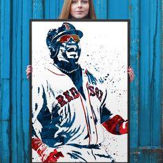 David Ortiz Boston Redsox Poster