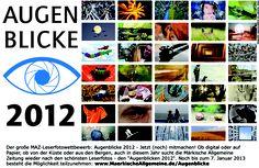 Noch bis zum 7. Januar 2013 mitmachen. Alle Infos unter: www.MaerkischeAllgemeine.de/Augenblicke