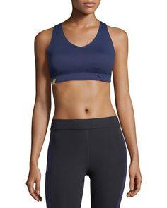 69c215e72d Monreal London Essential V-Neck Sports Bra Yoga Bra