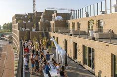 Gallery of Smiley Zeeburgereiland Apartments / Studioninedots - 3