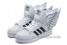 http://www.jordannew.com/adidas-originals-jeremy-scott-x-js-wings-20-white-black-lastest.html ADIDAS ORIGINALS JEREMY SCOTT X JS WINGS 2.0 WHITE BLACK LASTEST Only $80.00 , Free Shipping!