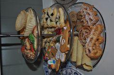 Nice display of Scandinavian Christmas cookies