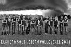 Elkhorn South STORM Volleyball Team
