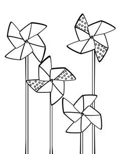 pinwheel #embroidery #pattern