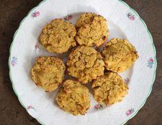 coconut flour muffins with pumpkin