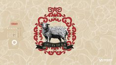 Year of the Sheep wallpaper
