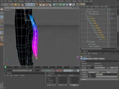 Cinema 4D Rigging 05 - Creating an IK-Spline with Controls - YouTube