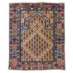 Caucasian Marasali Prayer Rug