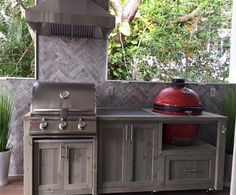 Outdoor Kitchens, Mobile Grill Islands, Dual Grill Tables, Grill Cabinets and more, all Customized for Your Outdoor Living Space. Kamado Joe, Big Green Egg, Primo, Vision, Akorn, Pitt Boss & other ceramic grills. Dual grill and gas grill cabinets also available. NEED A GRILL** - We are