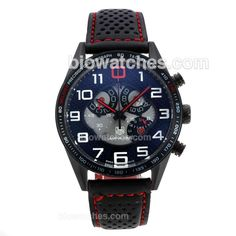 Tag Heuer Carrera MP4-12C Working Chronograph PVD Case with Black Dial-Red Needles